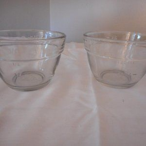 2 Pampered Chef 3/4 Cup / 175 mL Prep Bowls